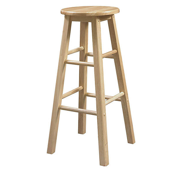 Linon 29-Inch Wooden Stool