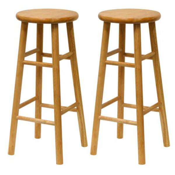 Winsome Wood 30-Inch Wooden Bar Stools