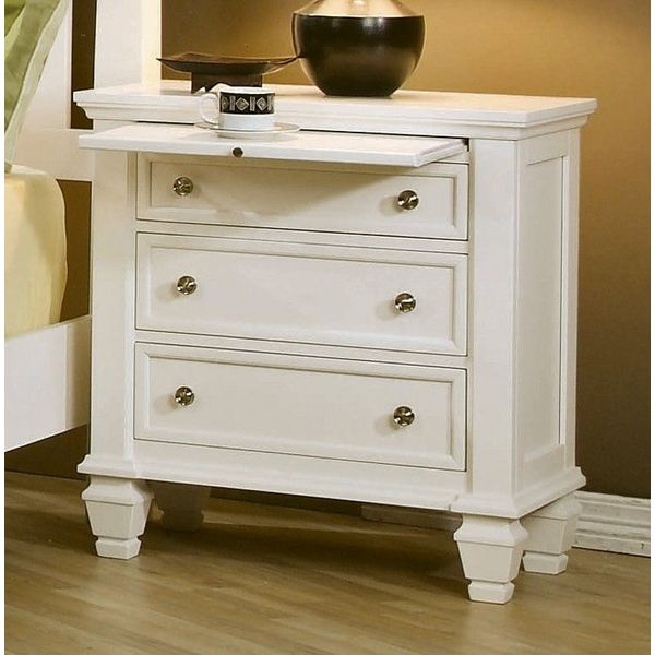 3 drawer nightstands easy home concepts. Black Bedroom Furniture Sets. Home Design Ideas