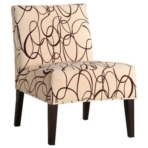 Homelegance Lifestyle Armless Lounge Chair