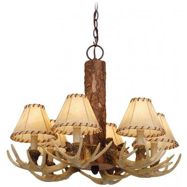 Vaxcel Lodge Antler Chandelier