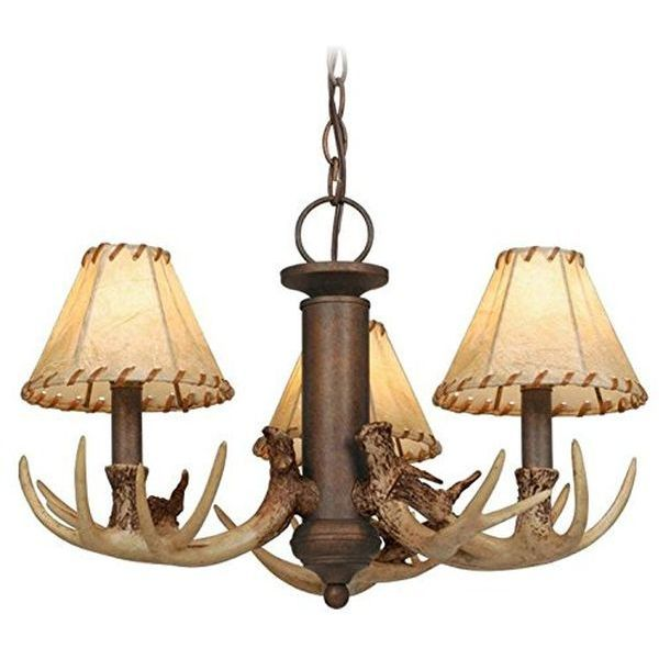 Vaxcel International Lighting Antler Light Kit