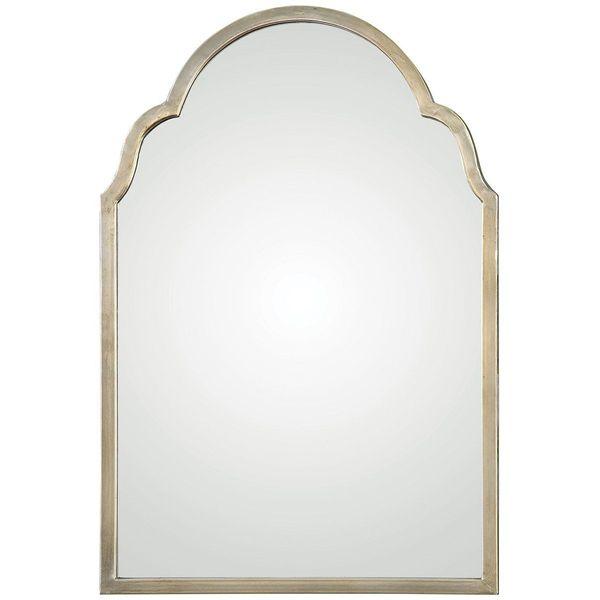 Uttermost Brayden Petite Arch Mirror, Silver