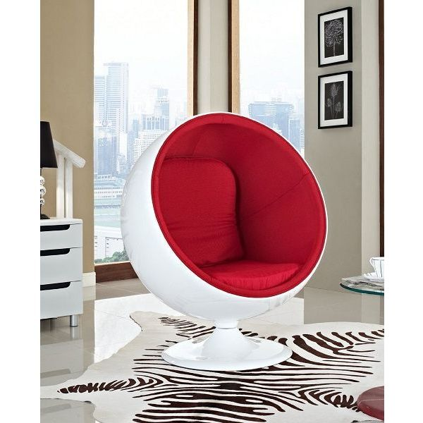 Lexington Modern Eero Aarnio Style Ball Chair