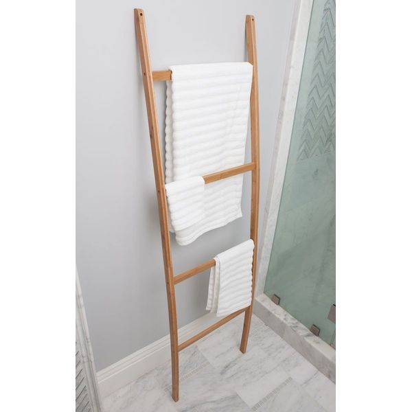 Best Living Bamboo Towel Ladder
