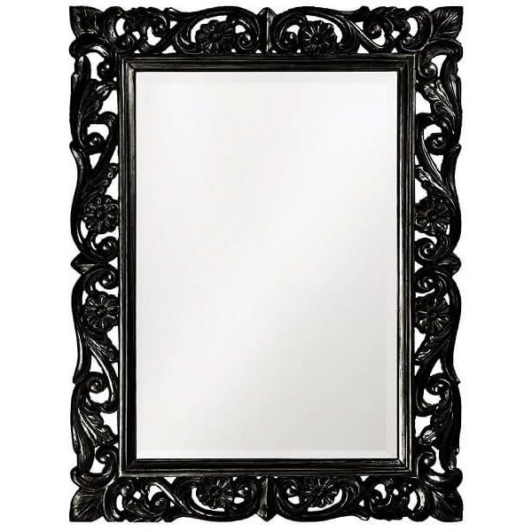Extra Large Baroque Iron Wall Mirror