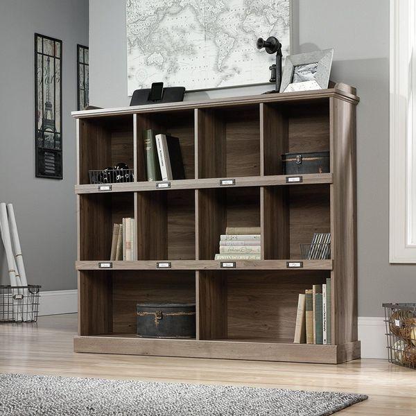 Sauder Barrister Lane Bookcase in Salt Oak