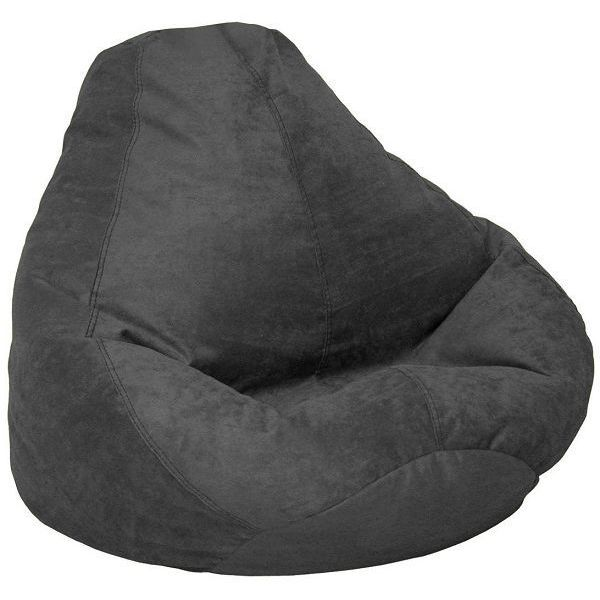 Soft Suede Luxe Bean Bag Chair