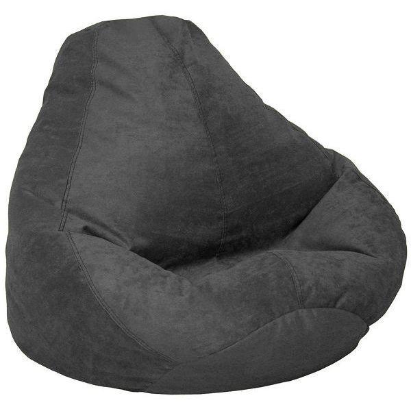 Soft Suede Luxe Bean Bag Chair