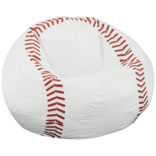 Kid's Sports Baseball Beanbag Chair