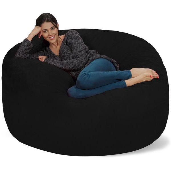 Chill Sack Giant 5' Memory Foam Bean Bag Chair