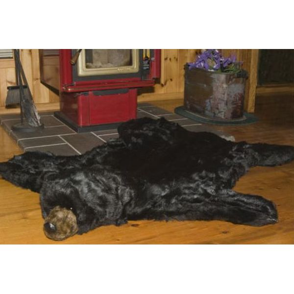 Brown Bear Rug/Halloween Decor Prop