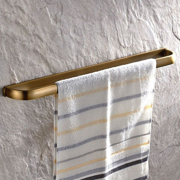 Leyden Antique Brass Towel Bar