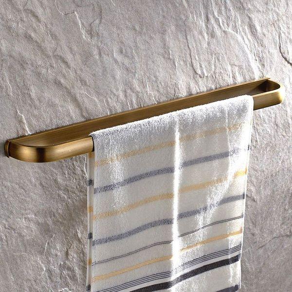 Leyden Antique Brass Towel Bar