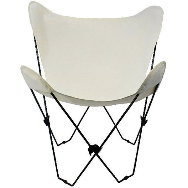 Algoma Butterfly Chair with Black Frame