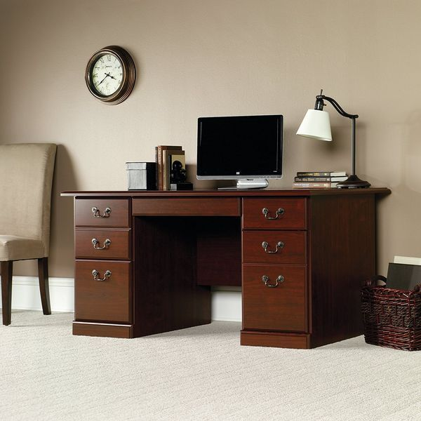 Sauder Heritage Hill Classic Cherry Desk