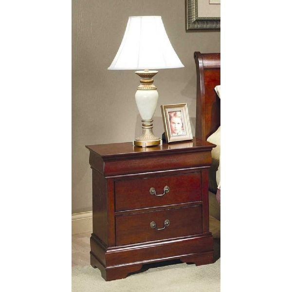 Strasburg Cherry Nightstand with Two Drawers
