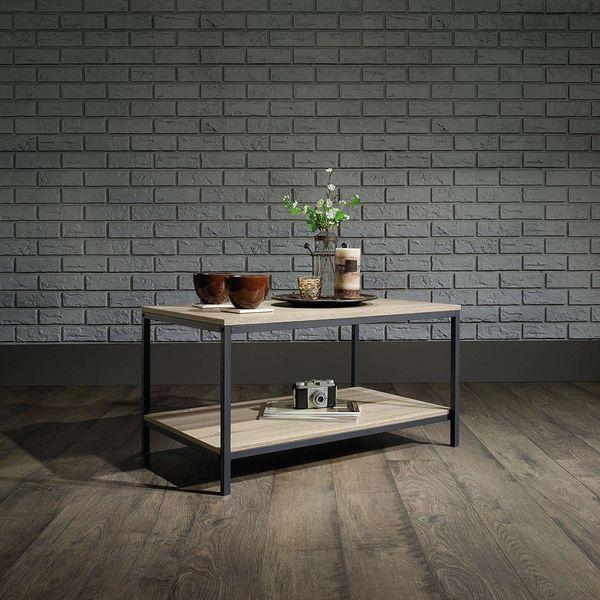 Sauder Original Cottage Coffee Table, Cobblestone Finish