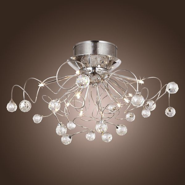 11 Light Crystal Contemporary Chandelier