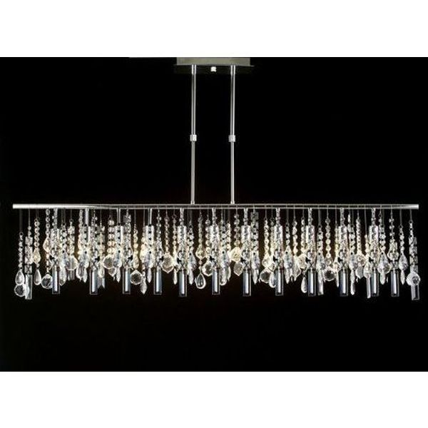 Modern Contemporary Linear Chandelier