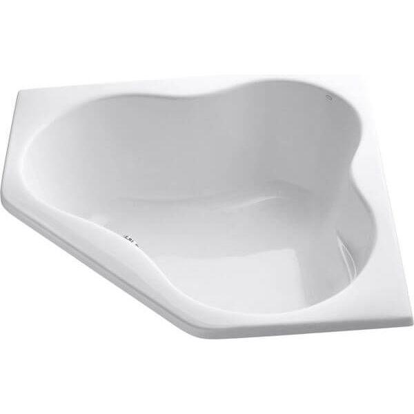 KOHLER Corner bath, White