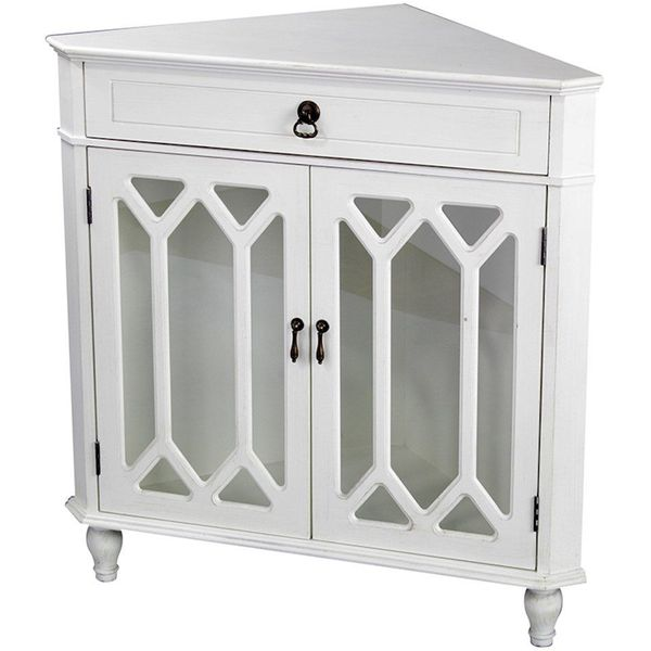 Brylanehome Country Kitchen Corner Cabinet