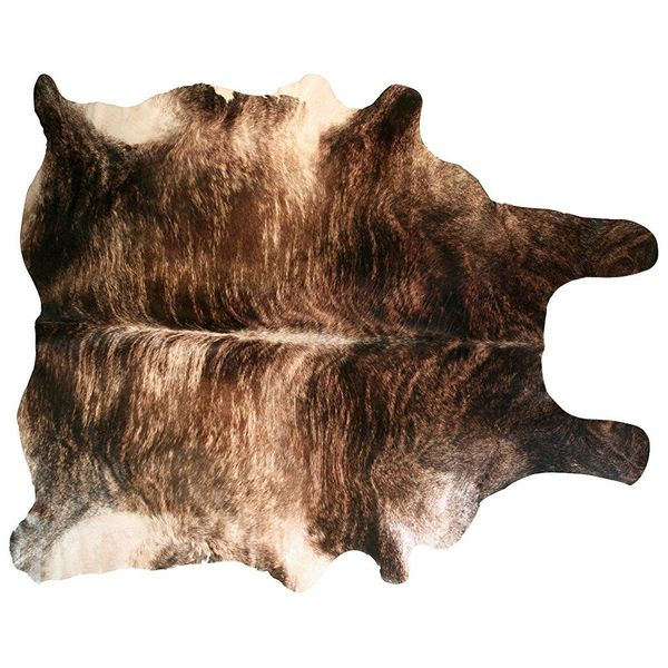 Argentine Brown Brindle Cowhide