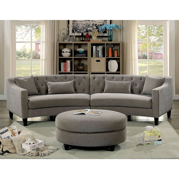 Riemann Curved Tufted Sectional