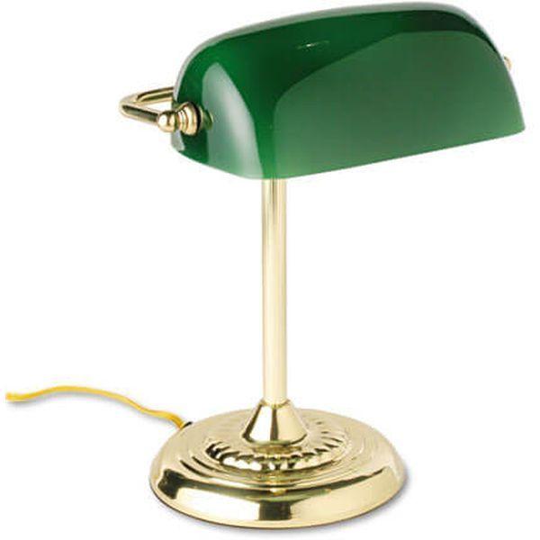 Ledu Traditional Banker's Lamp