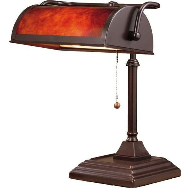 Normande Lighting 60-Watt Banker's Lamp