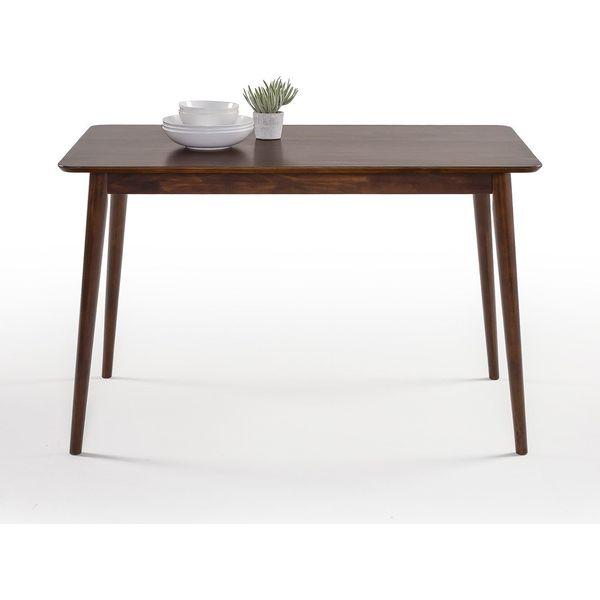 Woodmoor Dark Walnut Finish Dining Room 7-Piece Table Set