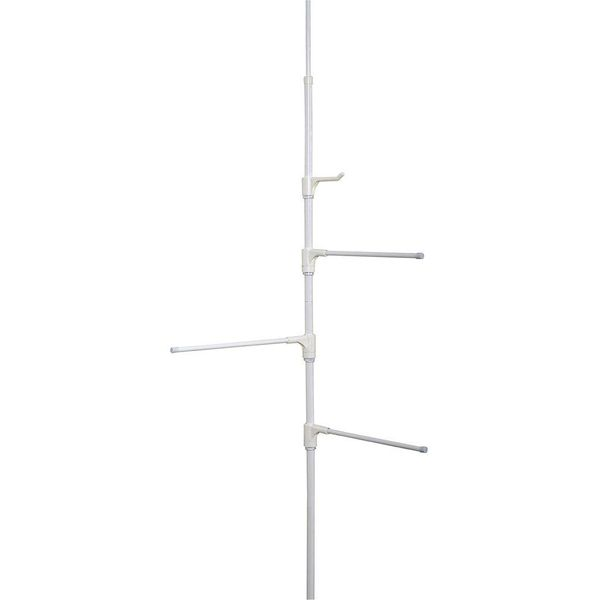 Zenith Products White Pole Caddy