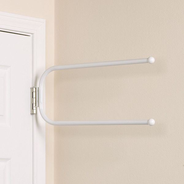 Household Essentials Hinge It Spacemaker Double Bars