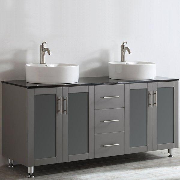 Foremost Shawna 60-Inch Bathroom Double Vanity