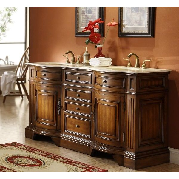 72-inch Master of the Old World Kleinburg Double Sink Bathroom Vanity