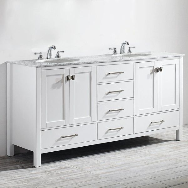 Foremost Berkshire 60-Inch Espresso Bathroom Vanity
