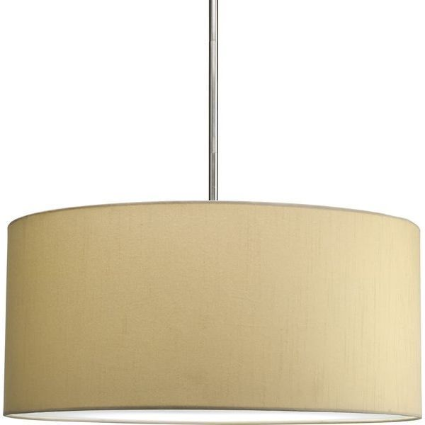 Progress Lighting Markor Modular Silken-Fabric Pendant Shade