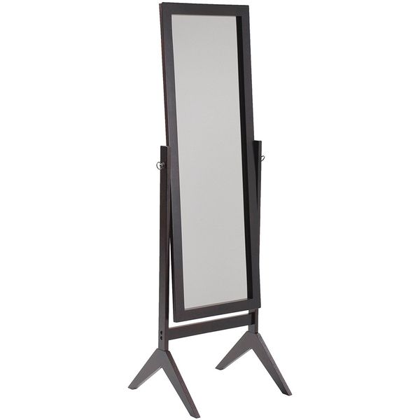 Cheval Mirror in Espresso Finish