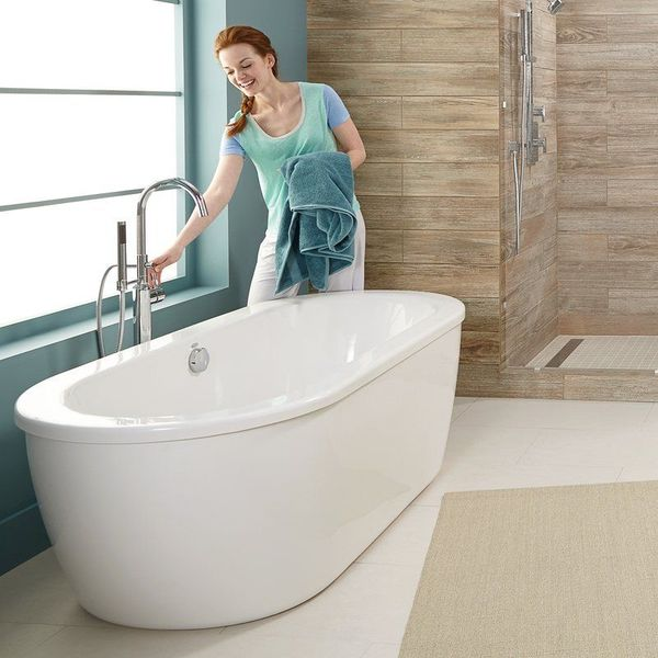 American Standard Cadet Freestanding Tub, Arctic White