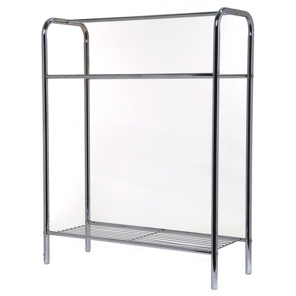 Home Basix Towel Stand with Shelf