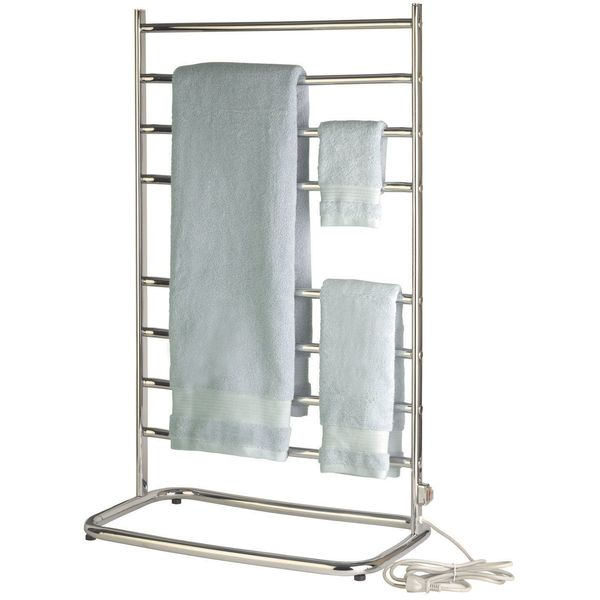Warmrails Hyde Park Heated Free Standing Towel Rack