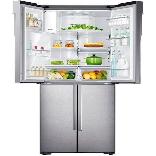Samsung 23.0 Cu. Ft. Stainless Steel Counter Depth French Door Refrigerator