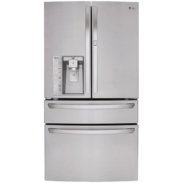 LG French Door Refrigerator, 30.0 Cubic Feet, Stainless Steel