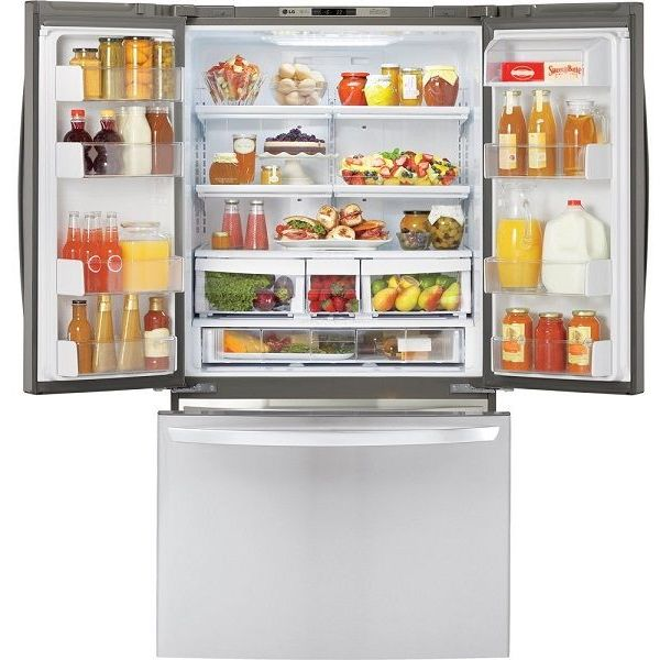 LG 20.7 Cu. Ft. Stainless Steel Counter Depth French Door Refrigerator
