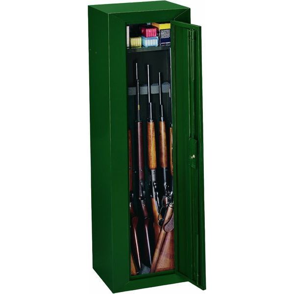 Stack-On Steel 10-Gun Security Cabinet, Green
