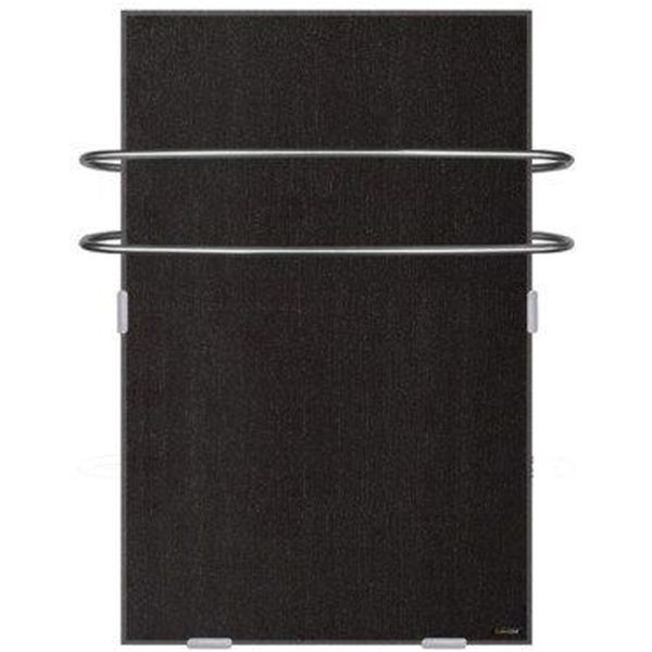 Slate Wall Heater with Towel Bars