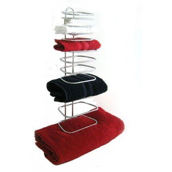 4-Guest Chrome Hotel Towel Holder by Taymor Industries