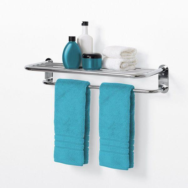 Hotel-Style Towel Shelf by Zenith