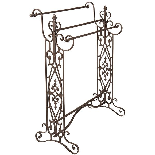 6 Best Wrought Iron Towel Racks Of 2019 Easy Home Concepts
