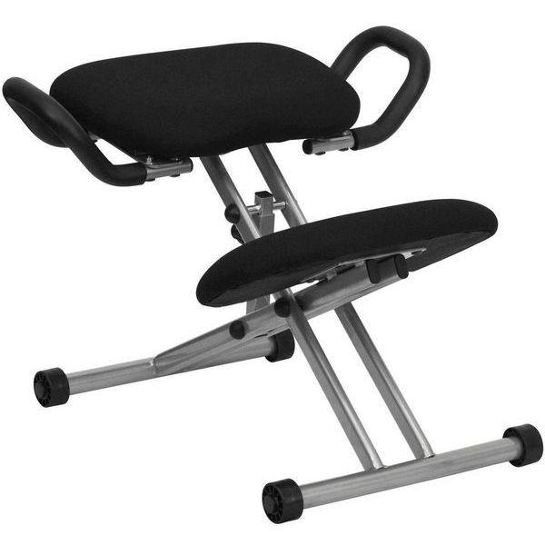 Flash Furniture Ergonomic Kneeling Chair with Handles